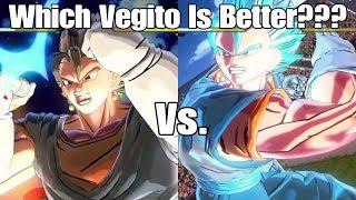 Xenoverse 2 Character Test SSB Vegito Vs. Super Saiyan/Base Vegito! The Results May Shock You !