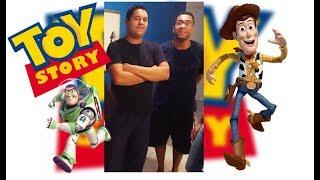 """#16 - Toy Story - """"Coisas Estranhas"""" / """"Amigo estou aqui"""" (Multinstrumental) Feat. Flávio Olávio"""