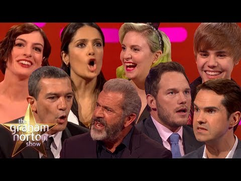 CELEBRITIES ATTEMPTING BRITISH ACCENTS on The Graham Norton Show