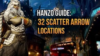 32 Hanzo Scatter Arrow Locations on ALL Overwatch Maps