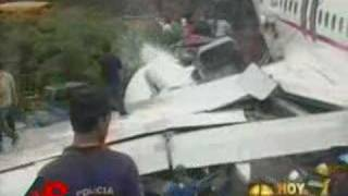 Raw Video: Aftermath of Deadly Plane Crash