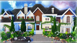 The Sims 4 House Building - Beryl's Base Game Mansion