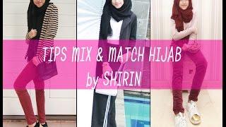 Mix & Match Hijab Kece ala Shirin Al Athrus