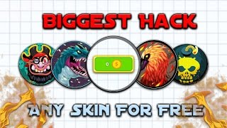 Agario Mobile Biggest Hack Ever // Any Skin For Free !!