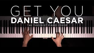 Daniel Caesar - Get You ft. Kali Uchis | The Theorist Piano Cover