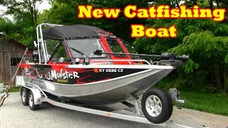 Here is my new catfish boat: A look inside my Northwest  boat