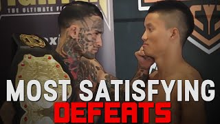 Most Satisfying Defeats In MMA