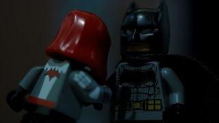 Lego Batman v RedHood Fight Stop motion