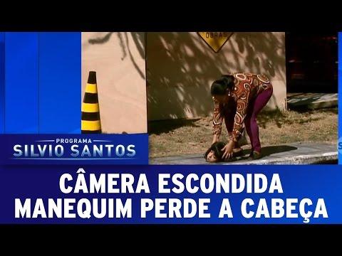 Câmera Escondida 09 10 16 Manequim perde a cabeça