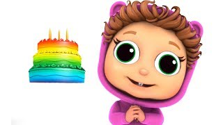 Happy Birthday Little Fishy | Educational | Learn Colors | Pink, Gold, Rainbow