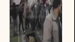 جنازة ابراهيم سنجاري حشد هائل من اصدقائه