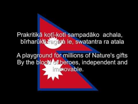 Xxx Mp4 Sayaun Thunga Phool Ka Nepal National Anthem Nepali English Lyrics 3gp Sex