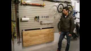 Bench Solutions Folding Work Bench
