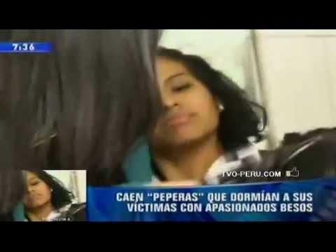 Caen Eliana Gallardo Cano y Yolanda Ipanaqué las Peperas de Los Olivos