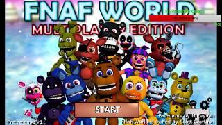 FNaF World Multiplayer Edition - Прокачка Для Совы