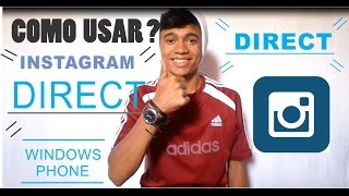 INSTAGRAM DIRECT PARA WINDOWS PHONE (6TAG)