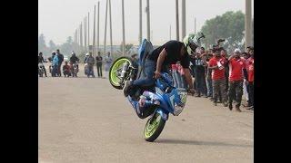 Amazing Motor Bike Stunt Show In Dhaka 2017 (The bikerz.org.bd)