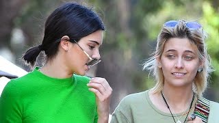 Kendall Jenner And Paris Jackson