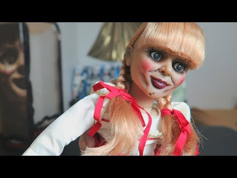 Xxx Mp4 UNBOXING Annabelle 18 Inch Scaled Prop Replica Doll By Mezco 3gp Sex