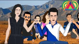 Sanam Re spoof   Pulkit Samrat, Yami Gautam,   Creative Cartoon Animation