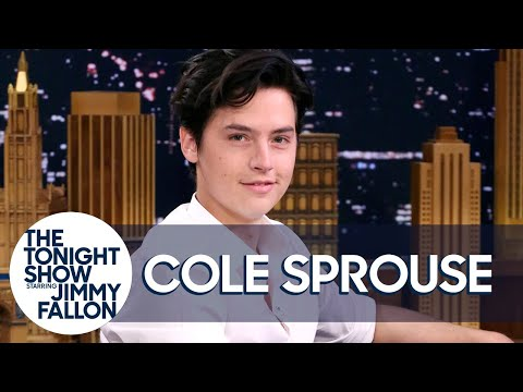 Cole Sprouse Shares Adorable Photos from His First Tonight Show Appearance