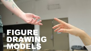 A Night with Figure Drawing Models