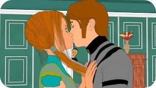 Hans Kiss Anna! Elsa & Anna of Arendelle Episode 4 - Frozen Princess Parody
