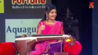 Spl performance by veena srivani at zee(bhangla)s r g m p grand finale