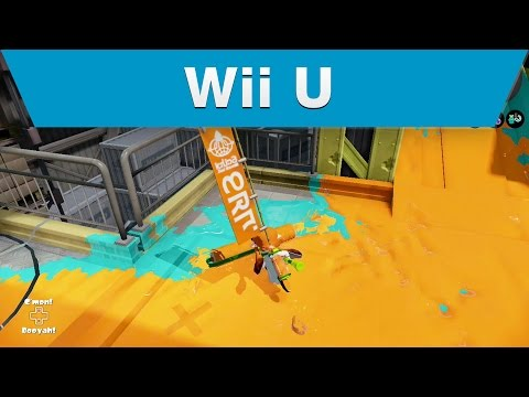 Wii U Nintendo Treehouse Live with the Splatoon Global Testfire