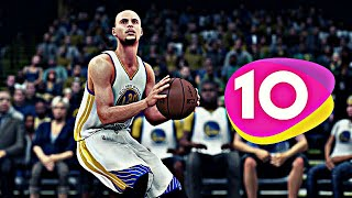 Top 10 Stephen Curry Plays in NBA 2K HISTORY!
