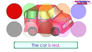 'The Color Game'   Learn Colors, Teach Colours, Kids English Learning, ESL, EFL,