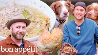 Brad Prepares and Cooks Pheasant | It