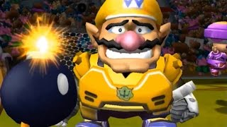 Mario Strikers Charged - All Character Losing Animations