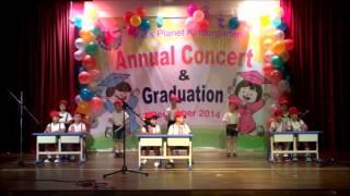 Kids Planet Concert 2014 Percussion Performance