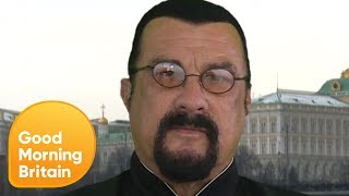 Steven Seagal Calls NFL Protests 'Disgusting' | Good Morning Britain