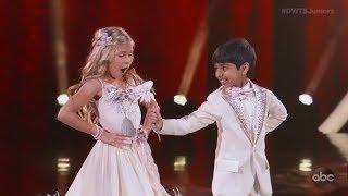 Akash Vukoti & Kamri Peterson - Dancing With The Stars Juniors (DWTS Juniors) Episode 1