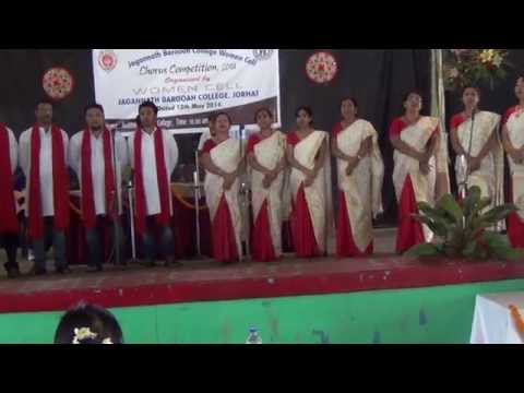 Xxx Mp4 DCB Girls College S Chorus Team Performing Moment In All Jorhat Chorus Competition 2014 3gp Sex