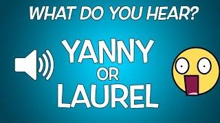 "Do You Hear ""Yanny"" or ""Laurel"" Challenge!"