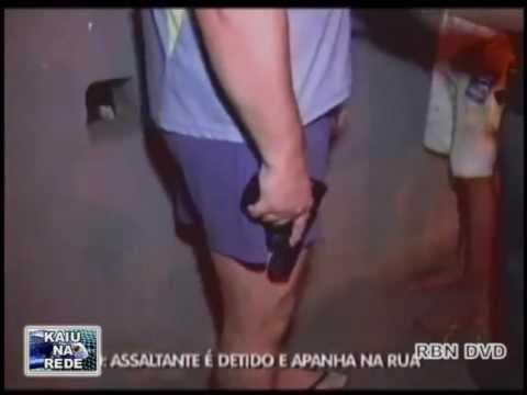 Assaltante se deu mal e quase foi morto pelo pai da vítima