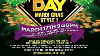 2018 St Patrick's Day Party- Mardi Gras Style!!