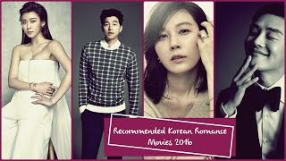 Recommended Korean Romance Movies 2016