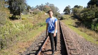 Lovers on the sun - Cover Music video by 16 year old boy singer Jared Cardona 2015 (David Guetta)