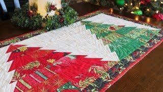 How to Make the Tree Farm Table Runner | a Shabby Fabrics Tutorial