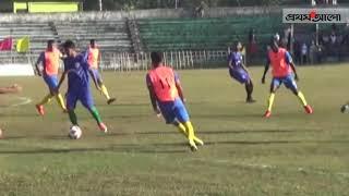 সুনামগঞ্জে পুলিশ সুপার গোল্ডকাপ ফুটবল || Prothom Alo News