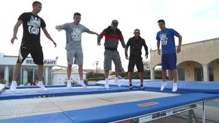 World's Best Trampoline Tricks - Behind the Scenes
