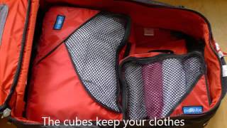How to pack using PACCUBE'S Packing Cubes