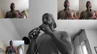 Daddy Yankee ft. Luis Fonsi - Despacito Mix - Cover Clarinete Requinto and Saxo Alto - Alonso