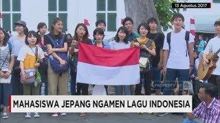 Mahasiswa Jepang Ngamen Lagu Indonesia