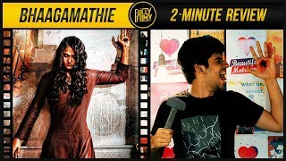 Bhaagamathie 2-Minute Review | Anushka Shetty |  Fully Filmy