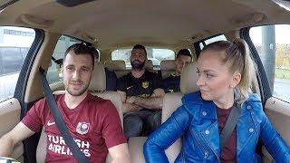 Star in the Car with FK Sarajevo & FK Zeljeznicar